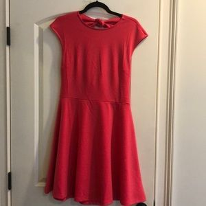 NWT Gap Fit and Flare Dress with Open Back